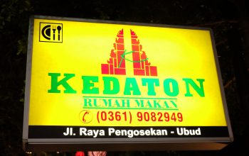 Kedaton: Indonesian Food for The First Timer
