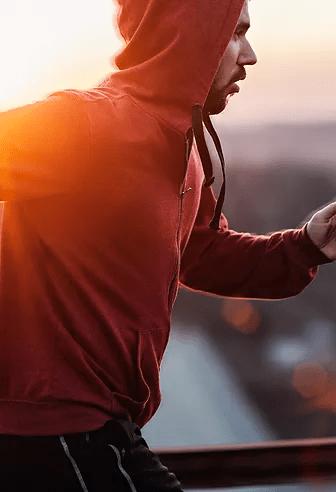Running makes us healthy